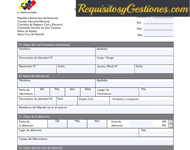 Tramites y Requisitos