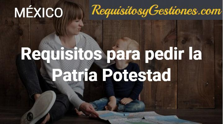 Requisitos para pedir la Patria Potestad: Guardia y Custodia